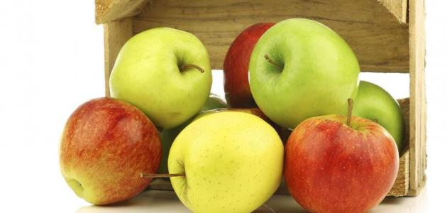 فوائد التفاح الأخضر على الريق للبشره