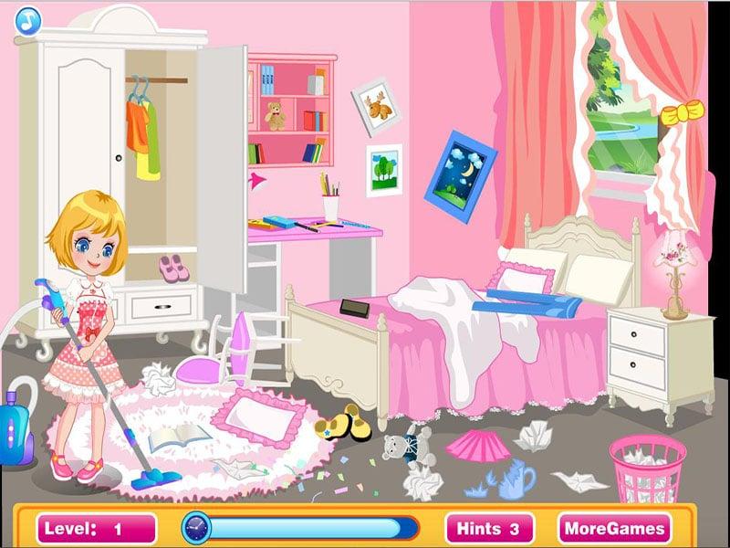 العاب تنظيف المنزل كامل
