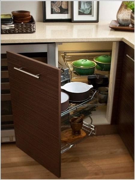 ترتيب دواليب المطبخ من الداخل بالصور تقسيمات دولاب المطبخ من الداخل معلومة