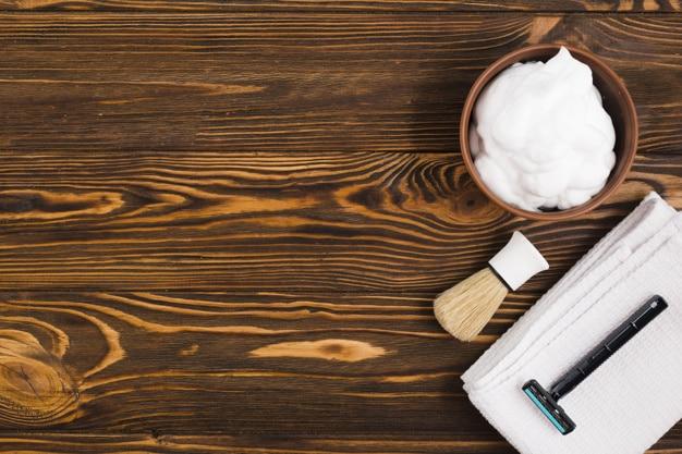 طريقة صنع كريم حلاقة رغوة