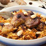 طريقة عمل الأرز البسمتي باللحم البتلو و عمل الأرز البسمتى الأصفر