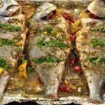 طريقة عمل السمك البلطي في الفرن للشيف الشربيني