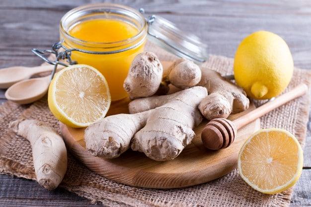 كريم الزنجبيل والليمون للتنحيف