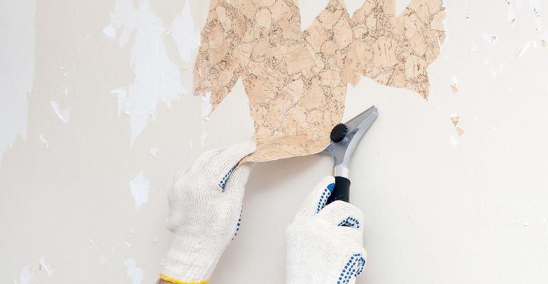 كيفية إزالة اثار اللاصق من الجدار