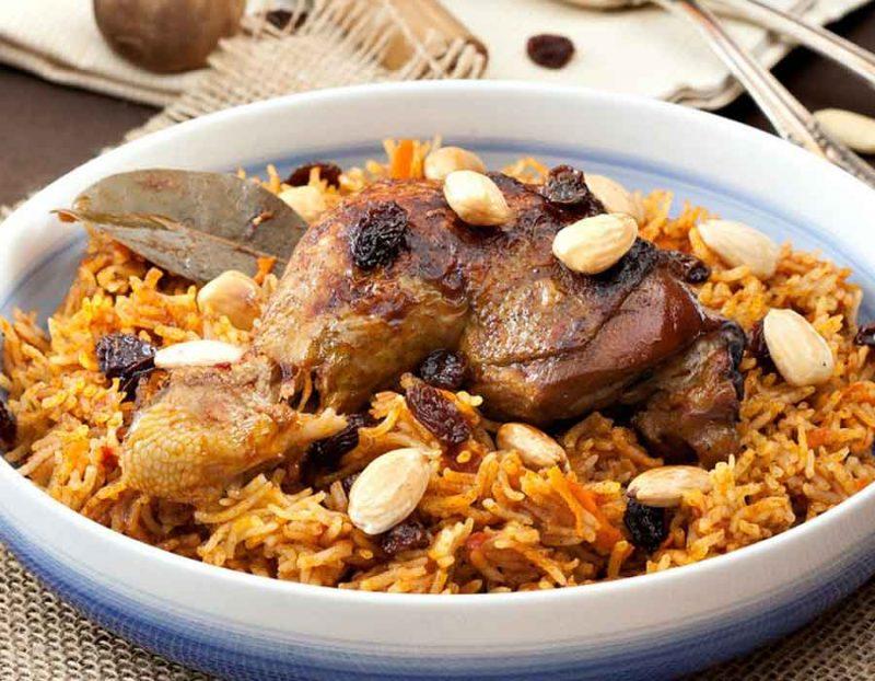 طريقة عمل الأرز البسمتي باللحم البتلو