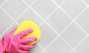تنظيف السيراميك من البويه والجبس