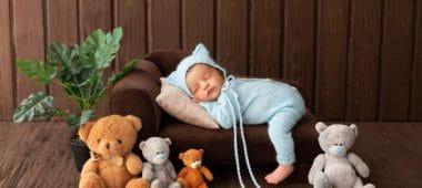 عدم نوم الطفل الرضيع