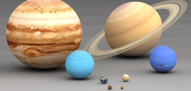 المجموعة الشمسية للأطفال الفضاء للأطفال معلومة