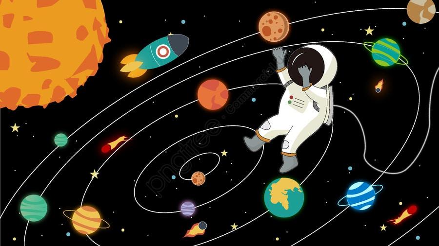 المجموعة الشمسية للأطفال