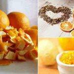 فوائد مغلى قشر البرتقال