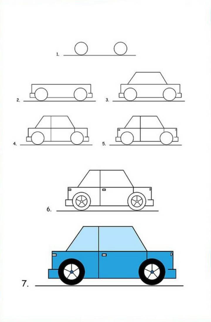رسم سهل جدا للاطفال