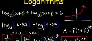 بحث عن اللوغاريتمات